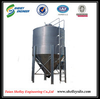 farm machinery used bulk feed grain bins price