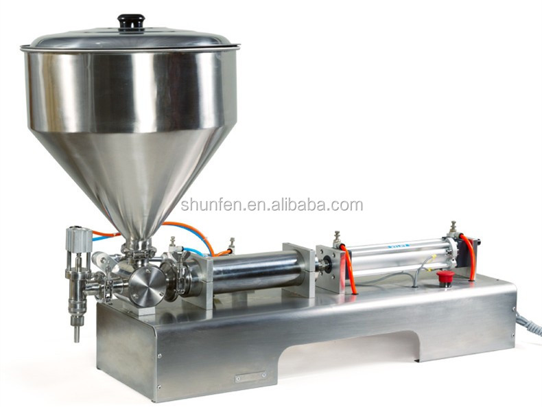 Compact Balm Filling Machine One Nozzle, Pneumatic paste dosing machine, Cream filling machine