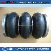 bus rubber convoluted air spring with high quality