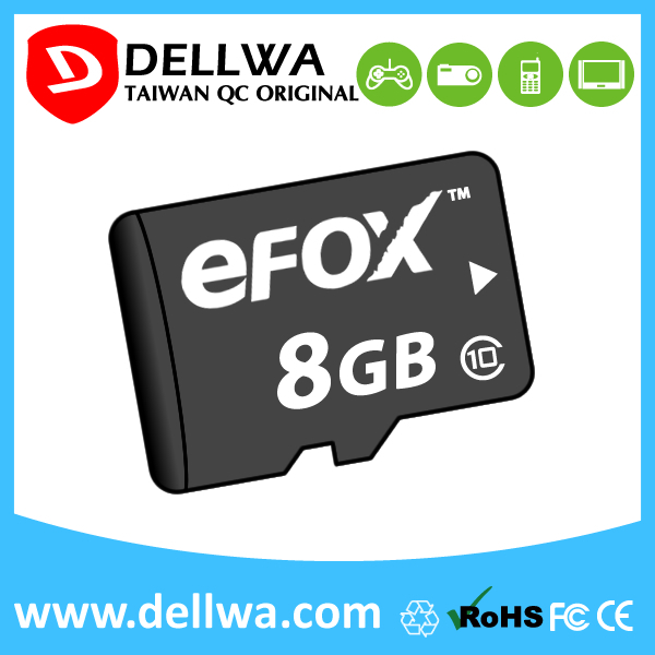 Taiwan full capacity 8gb 16gb 32gb 64gb memory card for sd card slot
