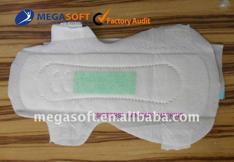 High Quality Soft Sanitary Napkins for Women Girl Wholesale Made in China Supplier