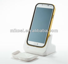 From 8 years factory Mikosi Galaxy S4 charger cellphone docking station for samsung
