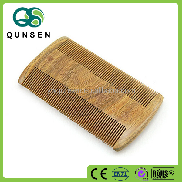 Handmade 100% Sandalwood Wood Comb, Beard Comb