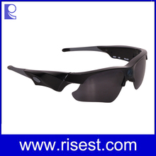 Wide Angle Camouflage Video Sunglass Camera, Top Rated Waterproof 1080P Full HD Sunglasses Camera for Outdoor Sports