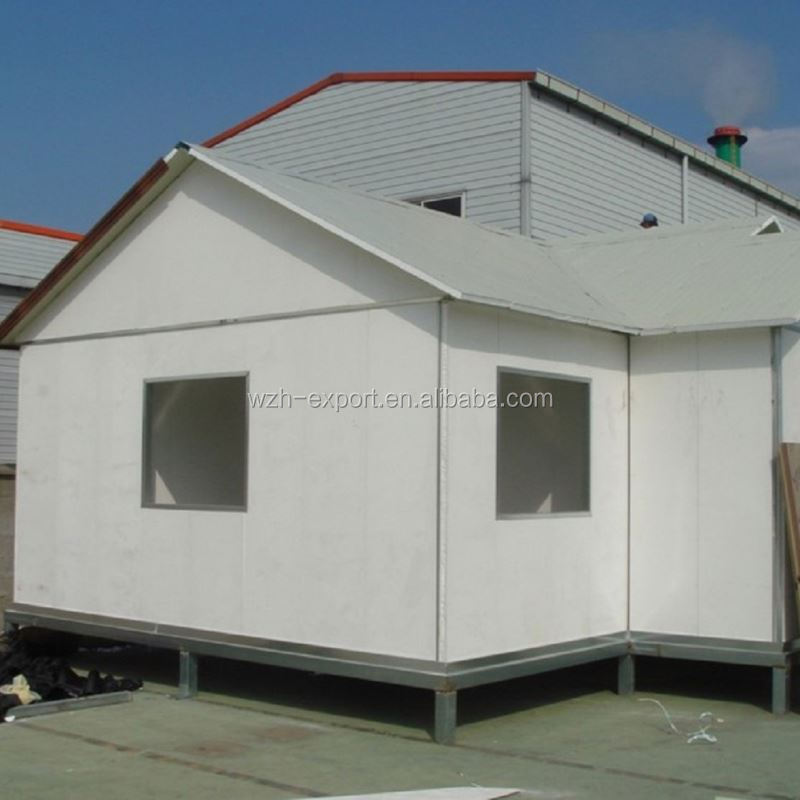 ready made light steel private prefab house