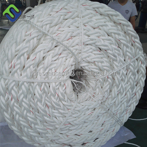 8-strand polypropylene ship mooring rope for shipping equipment