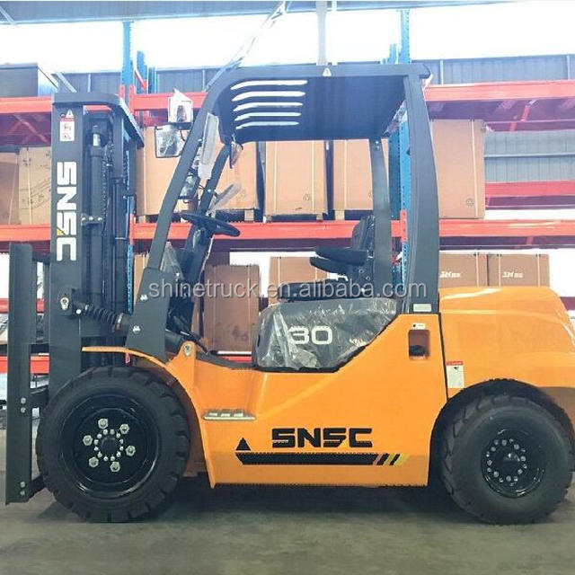 SNSC automatic hydraulic transmission diesel forklift 3ton for sale