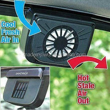 Car Solar Powered Auto Fan