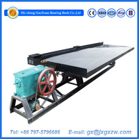 Hot sale gold separating machine mining shake table for gold,tin,tungsten