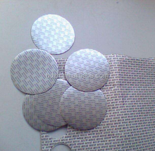 High quality printed Bottle Cap paper foil induction seal liner