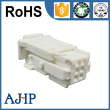6 ways electronical female automotive connector PBT-GF10