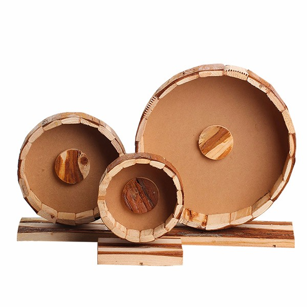 Non-toxic Natural pine wooden Chinchilla house play ground for hamster custom design acceptable