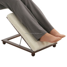 Elevator footrest stool adjustable footstool frames in wood