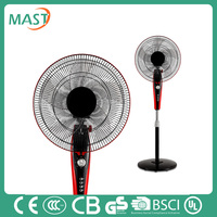 Electric stand fan air circulation fan 3 AS blades with high quality made in China
