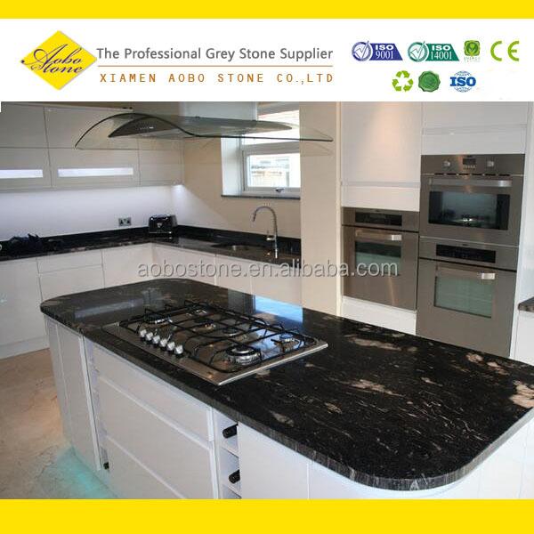 Cosmic Black Granite Composite Countertop Prefab Buy
