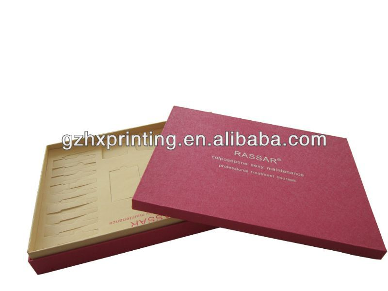 Huaxin simple and plain cd paper box