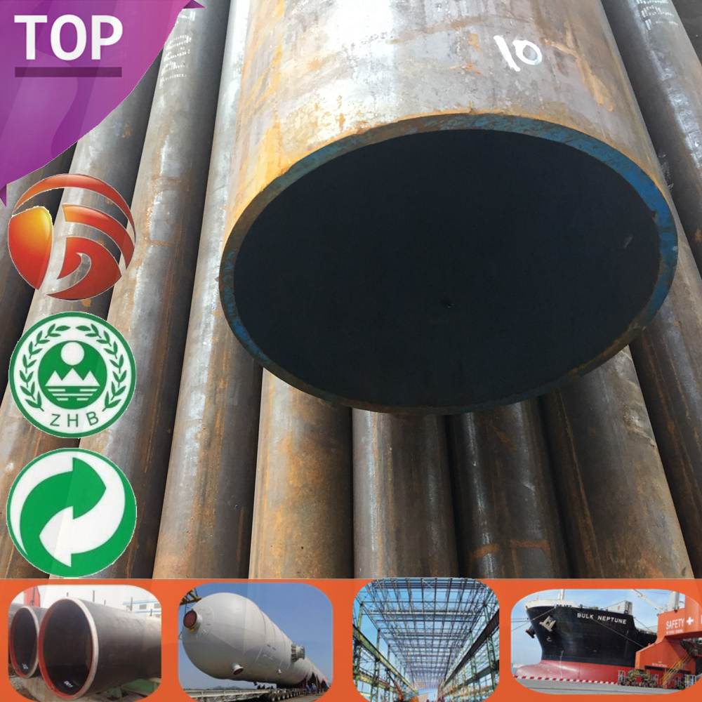 GB Q345B Prime Steel mill test certificate q345 Seamless Pipe Sizes ms pipe in uae