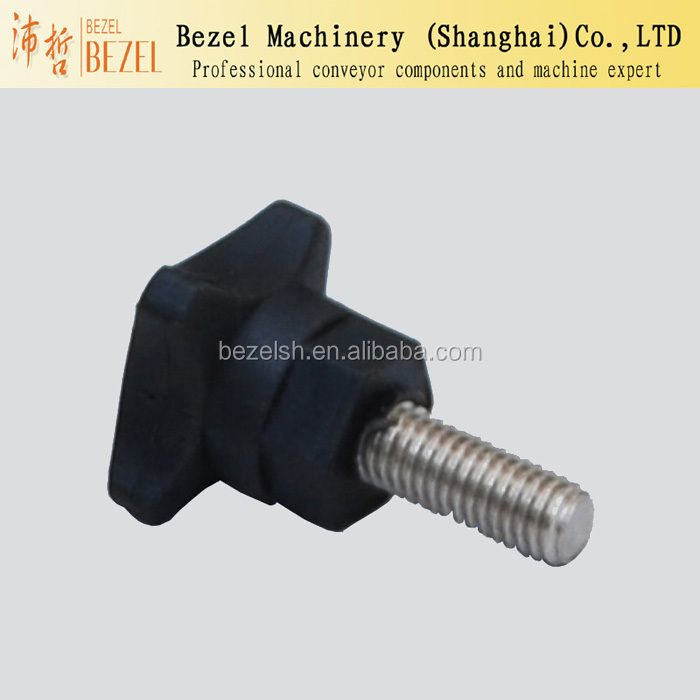 screw head Packaging machine parts conveyor parts bracket head knob nylon handle