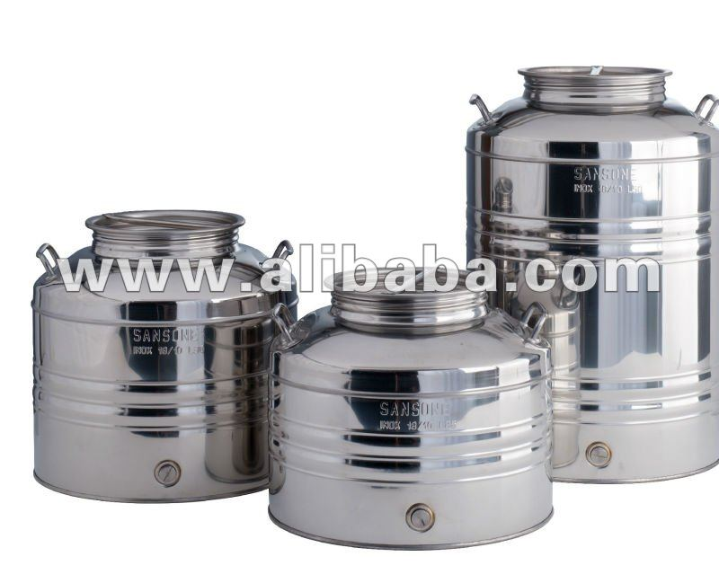 Traditional Stainless Steel Drums