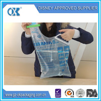 hot sale transparent zipper bag