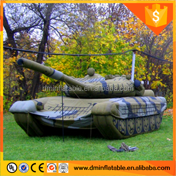 inflatable army tank, giant inflatable tank, Inflatable Military for advertising