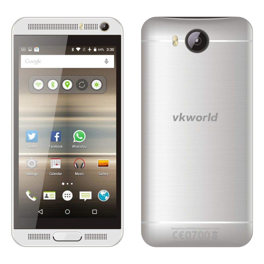 New Performance VKWORLD VK800X 5 inch Quad Core, 1GRAM 8GROM, 5MP+8MP Camera Double Flash, Dual SIM Android 5.1 3G Smartphone