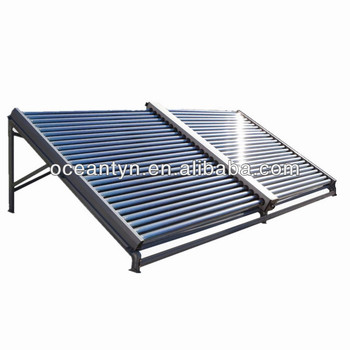 Unpressurized solar collectors