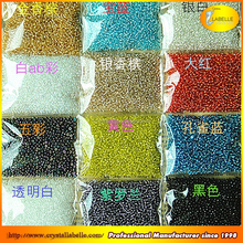 Factory Wholesale Glass Plastic Beads Crystal Beads Crystal Seed Beads Used For Jewelry Making