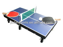 Mini table tennis table,portable pingpong table for wholesale