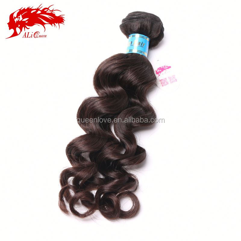 Best hair material natural hair color without chemicals peruvian wavy sew in human virgin hair extension DHL free shipping