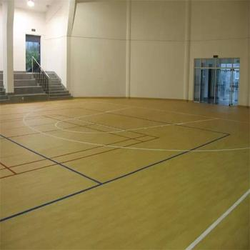 Top Quality Indoor Basketball Court Floor with Thick 4.5mm