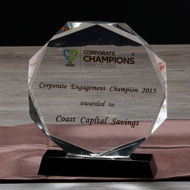 corporate giveaways crystal award cheaper crystal plaque