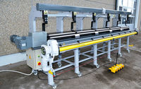 roof gutter making machine