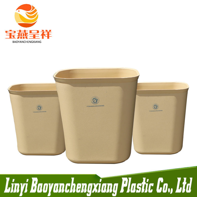 Top Sale Garbage Sanitary plastic dustbin 15L Outdoor HDPE Bin