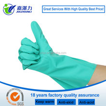 nitrile food industry glove, chemical gloves long, chemical resistant glove