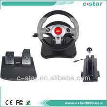 car racing game steering wheel for /PS3/PS2/PC USB