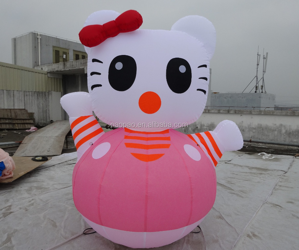 Custom Inflatable Cartoons/Inflatable Cat/2.5m Advertising Balloon Sales