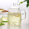 Hot selling tea set handmade borosilicate glass tea pot