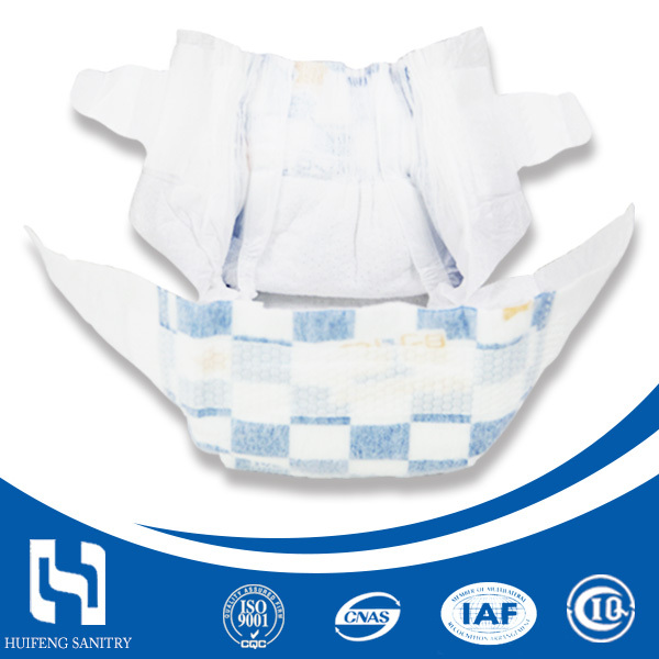 New Design Cute Baby Disposable Diaper in China with Breathable Design