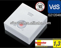 GS505 Chinese vds cheap factory optical fire alarm smoke detector under EN14604 European Standard