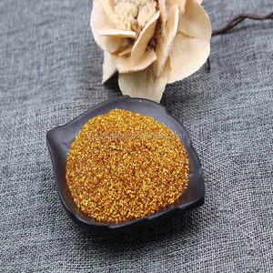 metallic flakes fine glitters sparkling pigments wholesale Gold glitter powders