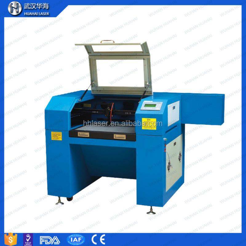 Huahai laser label die cutting machine for fabric