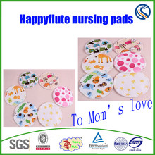 Happyflute reuesable and natural bamboo cotton nursing breast pad to Mom's love
