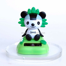 OEM Plastic Solar Toy , Custom PVC Mascot Decoration