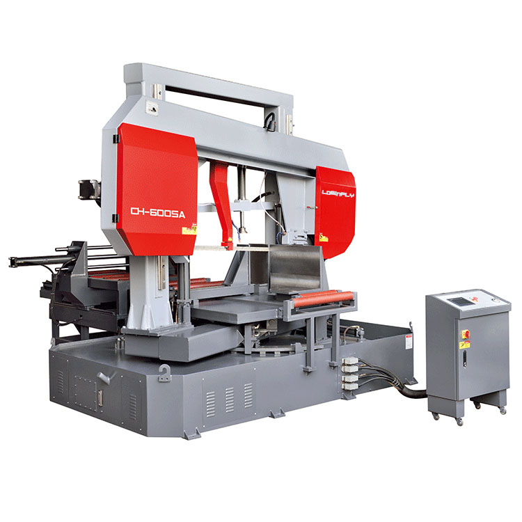 Cnc Automatic 0 To 45 Degree Angle Cut Machine 400Mm Rotate Band Saw Metal Cutter Mitre Saw
