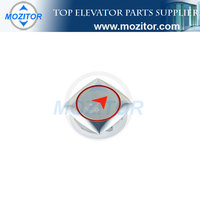 Elevator Push Button MZT-BN-12|Lift electric push button|lift push button switch