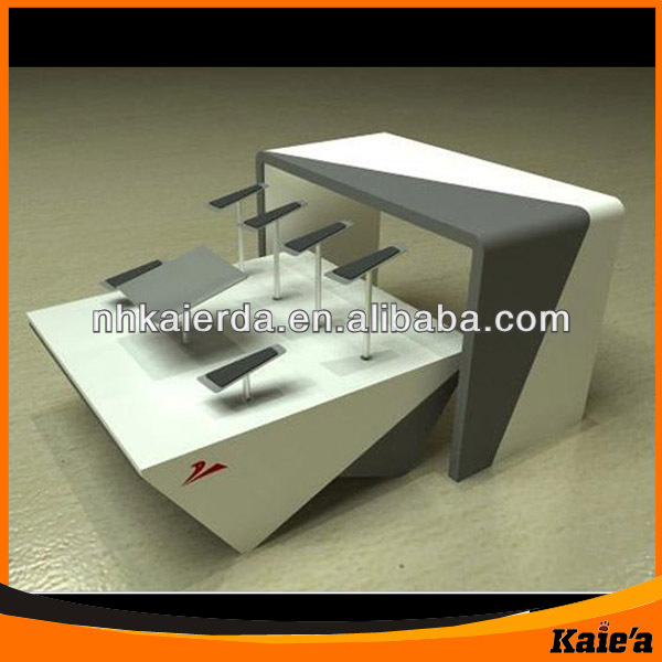 Portable Commercial Shoe Display Table