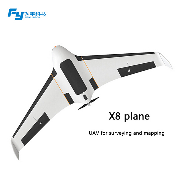 FeiyuTech rc airplane FY X8 EPO aircraft--auto take off and Landing Panda2 aerial photography systemn with long distance