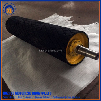 building construction belt conveyor drum head pulley power conveyor pulley
