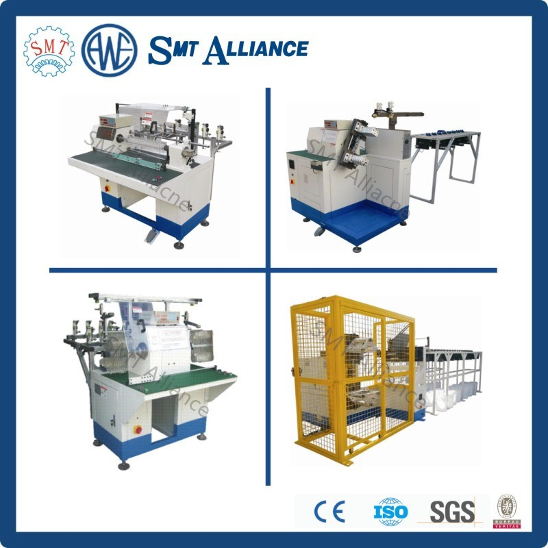 Electric motor and generator stator coil winding machine for Electric motor winding machine